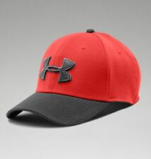 Under Armour Mens UA Closer Low Crown Stretch Fit Cap - Black, White or Gray