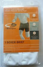 CHAMPION TECH PERFORMANCE MESH POUCH W/ FLY  BOXER BRIEF