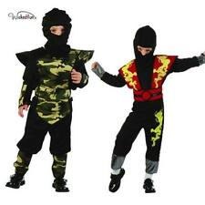 Boys Toddler Ninja Ranger Fancy Dress Chinese Dragon Camouflage Suit Age 2-4