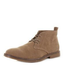 MENS FAUX SUEDE CASUAL LACE UP DESERT CHUKKA ANKLE BOOTS SIZE 6-12