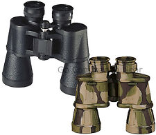 Full Size Camo Or Black Binoculars With Case - 10 x 50 MM - 10X Magnification
