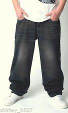 New Mens HipHop Jeans Ecko Denim Relaxed Baggy Loose Hip Hop Trousers Streetwear