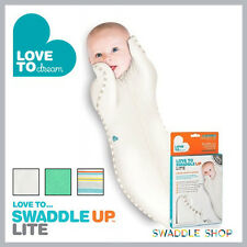 ★ Love to Swaddle Up Lite by Love to Dream™ - Baby Sleeping Bag Zip Wrap Thin ★