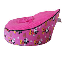Freeship Mickey canvas Baby infant Bean Bag Snuggle Bed 2upper layer NO Filling