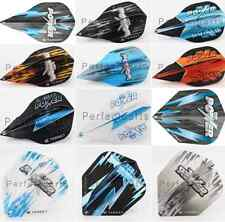 10 x SETS TARGET PHIL TAYLOR VISION EDGE POWER DART FLIGHTS, 10 Styles & Shapes
