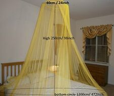 Round Hoop Bed Canopy Mosquito Net for All Size bed Party Camping in MANY COLORS
