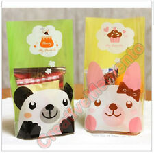 Panda Rabbit Candy Cookie Treat Baby Shower Birthday Party Favor Gift Bags