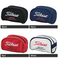 Titleist Japan Golf Ball Pouch Bag Carry Case 4 colors AJBC42 New