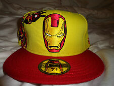 Brand New era Marvel Iron Man hat in yellow red