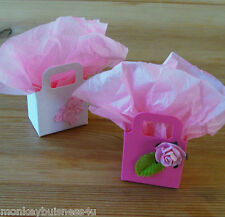 small open Favour Bag - Die Cuts - Baby Shower - Wedding - Christmas - Party