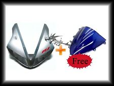 Yamaha 2002-2003 YZF R1 YZF-R1 YZF ABS Upper Fairing Cowl +Free Blue Windshield