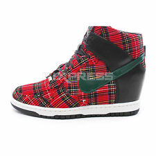 Nike WMNS Dunk Sky Hi City FW QS [598216-001] NSW Wedge London Black/Green-Sail