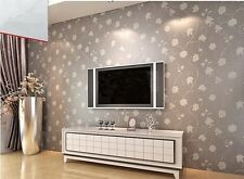 Floral Textured Feature Thick Princess Romantic Wall Wallpaper Roll Bedroom WP39