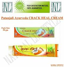 Patanjali CRACK HEAL CREAM Herbal Ointment for Cracked Heels 50 GM