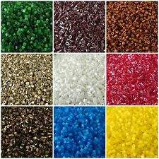 Preciosa Czech Glass Two Cut Seed Beads 25 g 30 colors