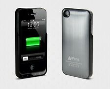 iFans iPhone 4/4S Aluminium Extended Power Charger Case Battery Pack