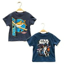 Toddler Boys Dusty Plane Star Wars Short Sleeve Tee Tops FA4419 Size 1 2 3 4 5