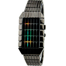 NEW Boy Date Binary Colorful LED Digital Sport Male eyki automatic Men's watches