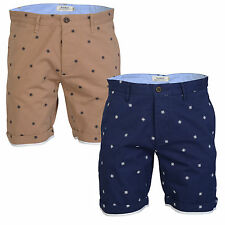 Voi Jeans Compass Mens New Casual Classic Designer Branded Cotton Chino Shorts