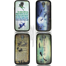 Peter Pan Quotes desgin Durable case for SAMSUNG GALAXY S4 S IV i9500 01277