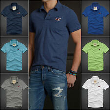 HOLLISTER MEN`S POLO SHIRT NWT DIVER`S COVE SIZES S,M,L,XL SPRING 2014