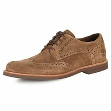 Timberland Earthkeepers Stormbuck #5830R Lite Brogue Oxford Casual Shoes Brown