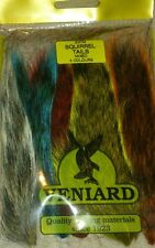 Veniard Grey Squirrel Tails Natural and Dyed Colours