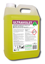 Artificial Lawn/Fake Grass/AstroTurf Violet Cleaner/Disinfectant 1x5,2x5,4x5ltr