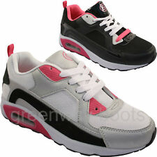 LADIES WOMENS SPORTS GYM JOGGING RUNNING CASUAL TRAINERS TRAINER GIRLS SIZE 13-9