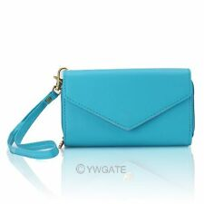Womens Multifunctional Credit Card Coin Bag Purse Phone Envelope Clutch Wallet