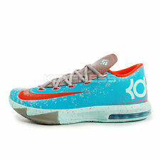 Nike KD VI [599424-400] Basketball Maryland Blue Crab Gamma Blue/Orange