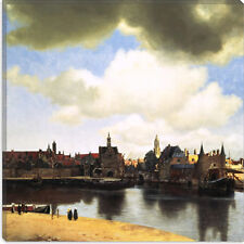 View Delft by Johannes Vermeer Canvas Print Picture Wall Art - 10 SIZES!