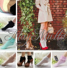 Fashion Vintage Lace Ruffle Frilly Ankle Socks Ladies Princess Girl Gift New M