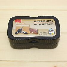 Leather Polishing Liquid Wax Sponge Brush Shining Shoes Sofa Bag Jacket Cleaning