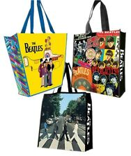 THE BEATLES Reuseable Tote Bag Abbey Road Albums or Yellow Submarine