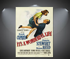 Its A Wonderful Life Vintage Movie Poster - A1, A2, A3, A4 available