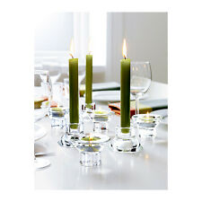 2, 4, or 8 IKEA Neglinge Taper OR Tealight Candle Holders - Can be used TWO ways
