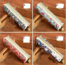 Forest Style Small Flower Pencil Case Bag Stationery