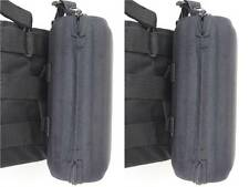 2 pcs sunglasses case for easily attaching to molle on tactic vest or backpack