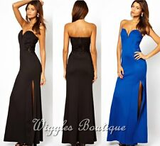 NEW - TFNC Maxi Dress With Fishtail And Lace Insert