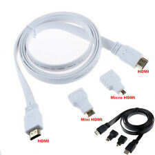 3in1 HDMI to HDMI / Mini HDMI / Micro HDMI Adaptor Cable Kit HD for Tablet PC TV