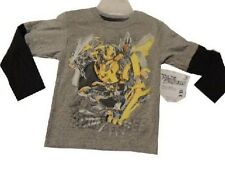 Transformers t-shirt Boys long sleeve shirt tshirt new