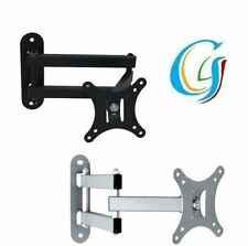"""UNIVERSAL LCD LED TV WALL MOUNT STAND BRACKET HOLDER FOR 14"""" To 24"""" SCREEN G4RCE"""