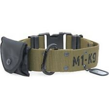 NEW M1-K9 ADJUSTABLE MILITARY GRADE BIG DOG COLLAR LARGE BREED JEFFERS PET LEASH