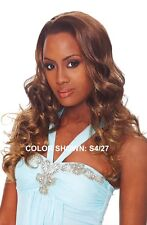OUTRE QUICK WEAVE RIHANNA LONG BIG CURLY STYLE HALF WIG 3/4 WIG
