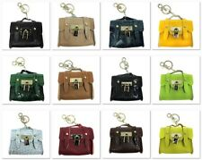 Leather Mini Hangbag Fashion KeyChain Pause Mini Coin Wallet Key Ring Women Gift