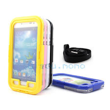 Touchable Underwater Shock Dust Dirt Waterproof Case for Samsung Galaxy S4 i9500