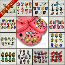 Hot Cartoon Logo PVC Shoe Charms for Jibz Bracelets & Coc Shoes,Kids Party Gift