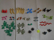 NEW LEGO ANIMALS FOOD PLANTS LEAVES SWORDS CRYSTALS GEMS DYNAMITE. PICK 1 U WANT