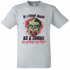 Zombie,eat you first zombie T-shirt,all sizes available
